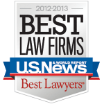First Tier Rankings with Best Law Firms