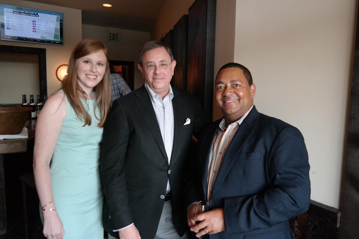 Firm attorneys Lauran Glassman Stimac, Richard Glassman and Robert Cox