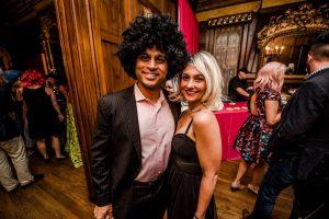 Big Wig Ball Couple