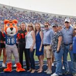 U of M's Pouncer Gets Cool New Stripes with Donation from Richard Glassman and Family