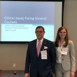 Attorneys Richard Glassman and Lauran Stimac Present on Corporate Ethics